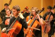 Bild: Orchester, Violoncello