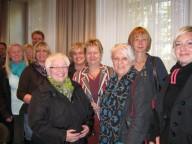 Bild: GRÜNE SchulpolitikerInnen mit Schulministerin Löhrmann