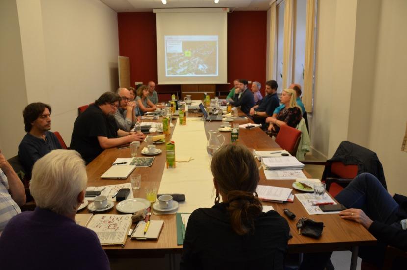 Sitzung der GRÜNEN Fraktion in Lengerich