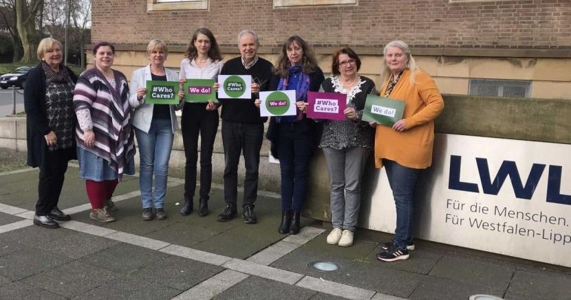 Foto: Arbeitskreis Gender und Diversity der GRÜNEN Fraktion in der Landschaftsversammlung Westfalen-Lippe.